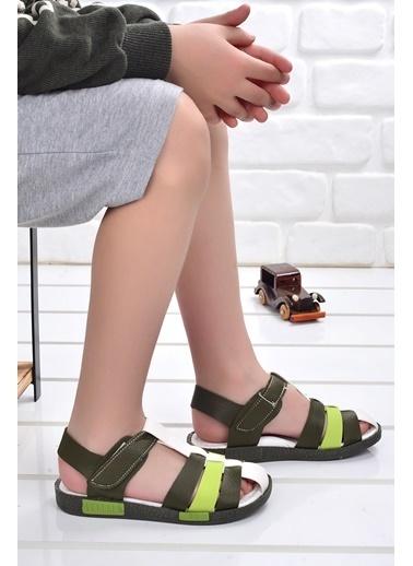 Şirin Bebe Kiko şb 2479-87 Orto pedik Erkek Çocuk Sandalet Terlik Renkli